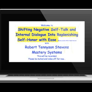 Shifting Negative Self Talk