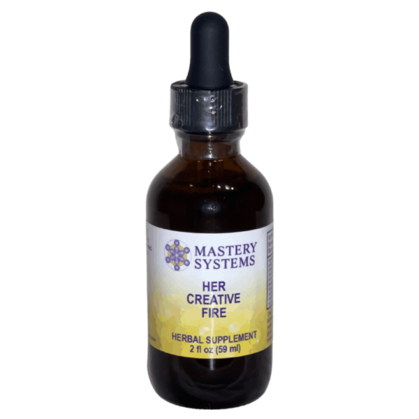 Her Creative Fire tincture bottle