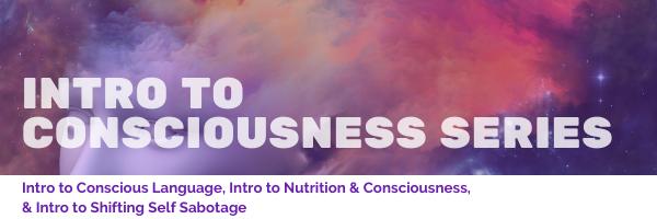 Intro to Consciousness Series